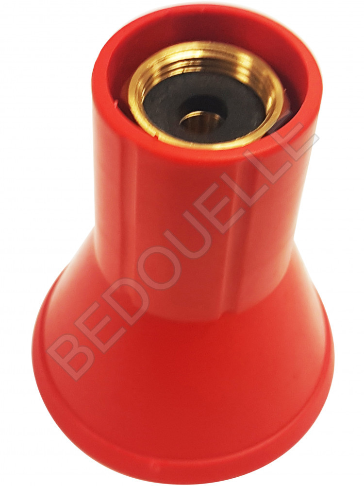Embout Turbo avec Pastille céramique ø2,3 mm pour lance mitraillette