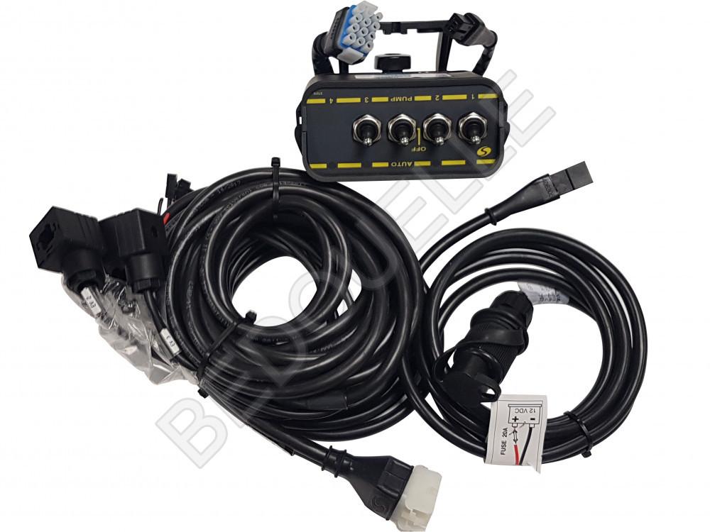 Boitier de commande pour pompe électrique 12 Vts 3 voies 10 ampères