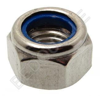 Ecrou frein hexagonal ø8 mm Inox