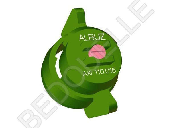 Buse FASTCAP AXI 110° 015 Verte ALBUZ